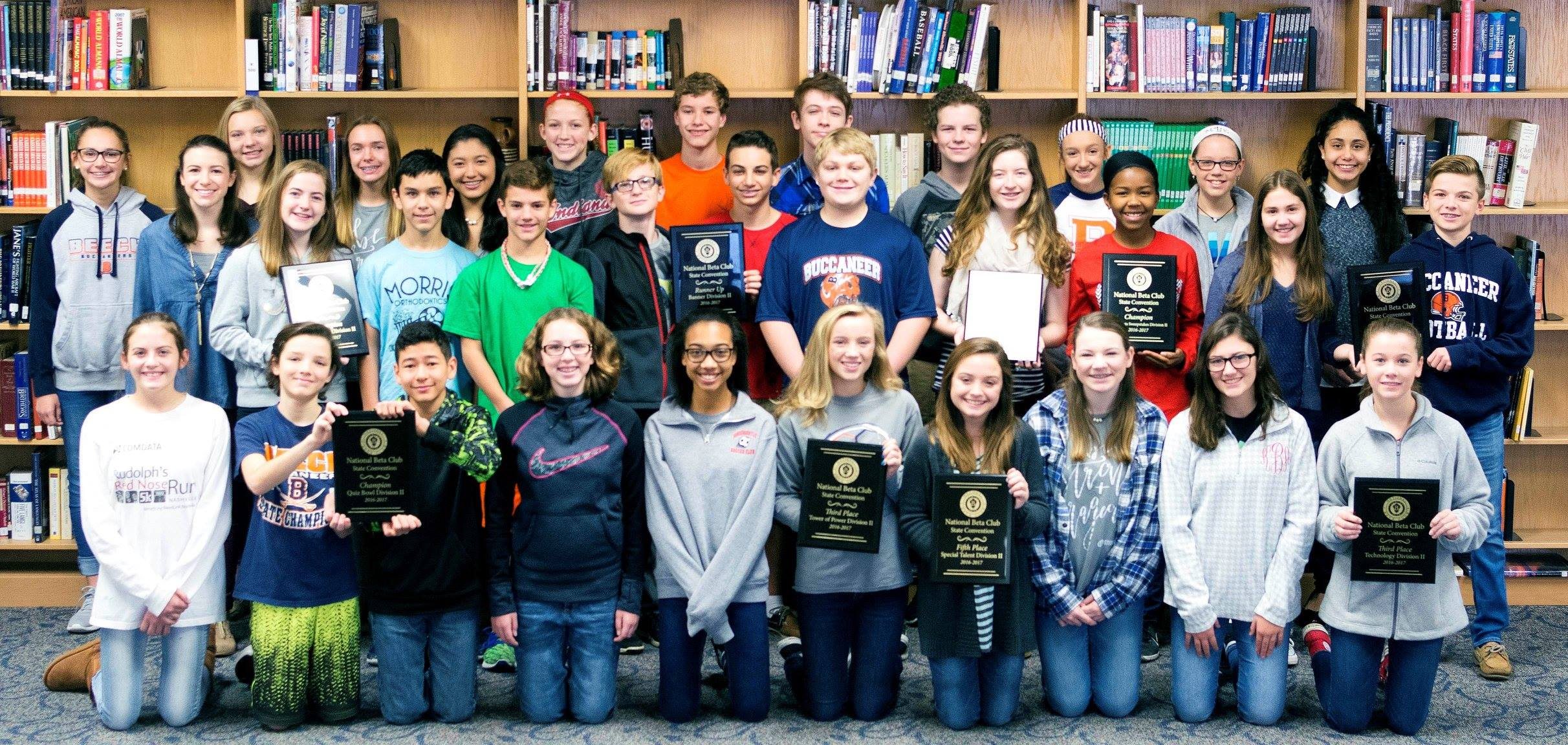 Beta Club State Winners 2016-17